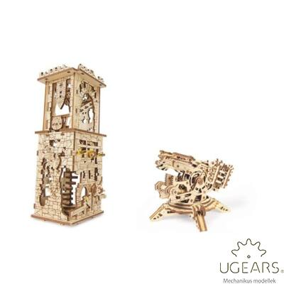 UGEARS Archballista Torony - mechanikus modell