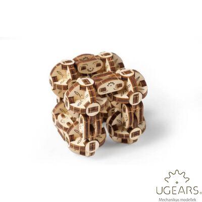 UGEARS Flexi Cubus stresszlevezető modell