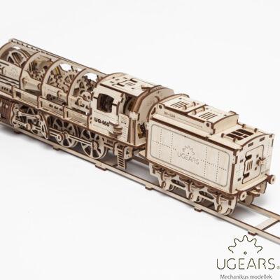 UGEARS Gőzmozdony - mechanikus modell