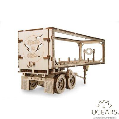 UGEARS Heavy Boy kamion utánfutó - mechanikus modell