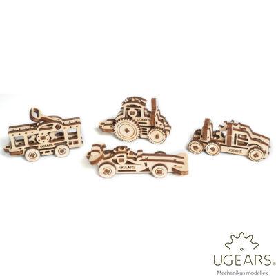 UGEARS mini stresszlevezető modellek - Járművek