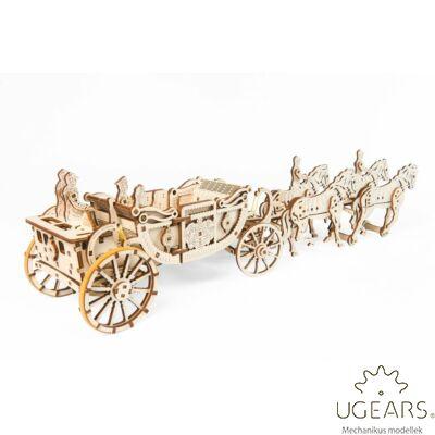 UGEARS Királyi hintó - mechanikus modell