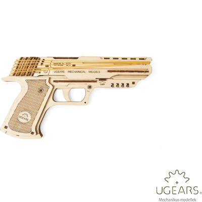 UGEARS Wolf-01 Revolver - mechanikus modell