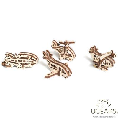UGEARS mini stresszlevezető modellek - Repülők