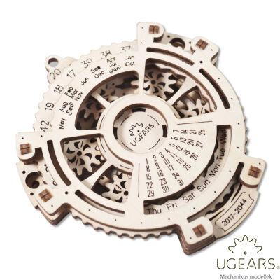 UGEARS Naptár – mechanikus modell