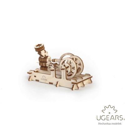 UGEARS Pneumatikus motor - mechanikus modell
