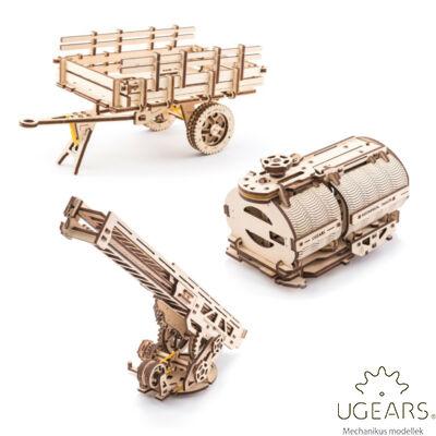UGEARS Teherautó alkatrészek – mechanikus modell
