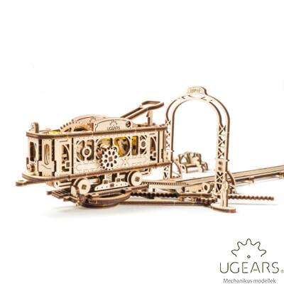 UGEARS Villamosvonal - mechanikus modell