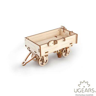 UGEARS Tréler – mechanikus modell