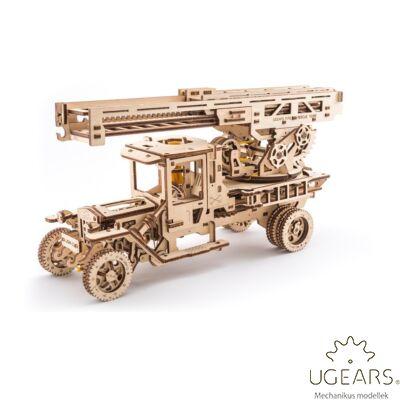 UGEARS Tűzoltóautó - mechanikus modell