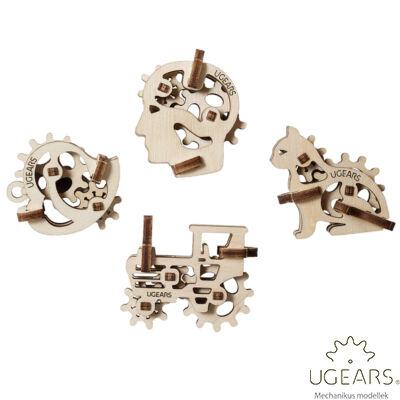 UGEARS mini stresszlevezető modellek - Szimbólumok